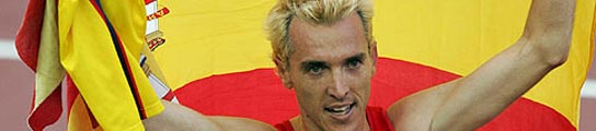 Blanco celebra la plata en 3000 obstáculos