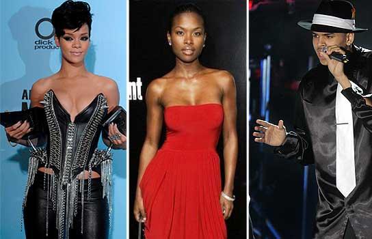 Rihanna, Ellie y Brown