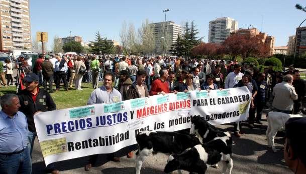 Protesta de ganaderos