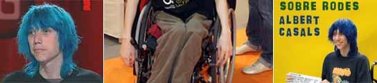 Un joven catalán en silla de ruedas recorre el mundo solo, sin dinero y en autoestop  (Imagen: TV3 Y FUNDACIONSBS)