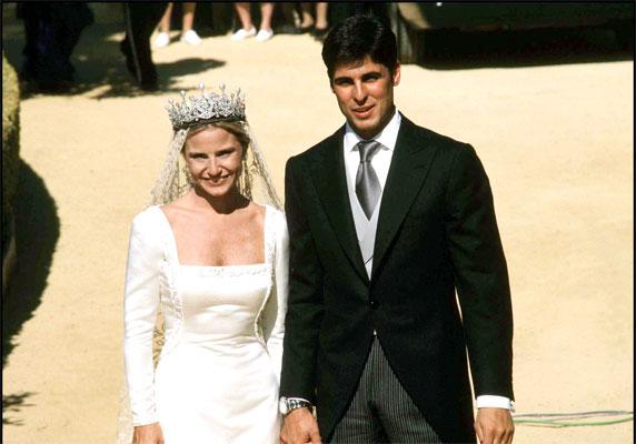 los vestidos de novia de las famosas españolas - bodas famosas