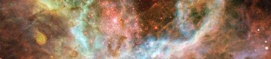 La nebulosa de la Tarántula.
