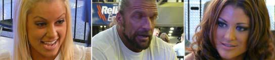Maryse, Triple H y Eve