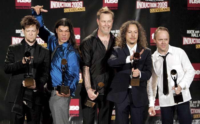 Metallica en el Salón de la fama