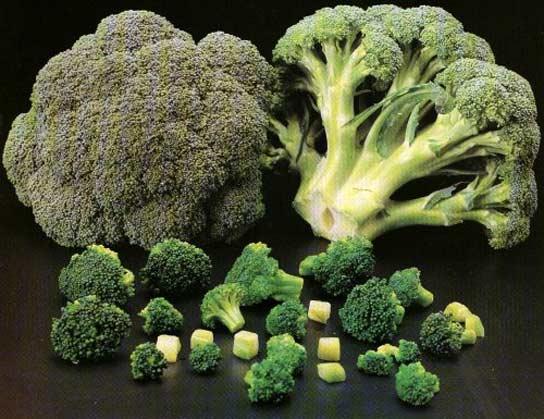 El brocoli ayuda a prevenir el cancer de estomago