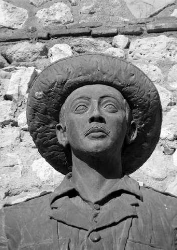 La polémica estatua de Franco