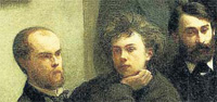 Verlaine, en el famoso cuadro de Fantin-Latour 'Coin de table'