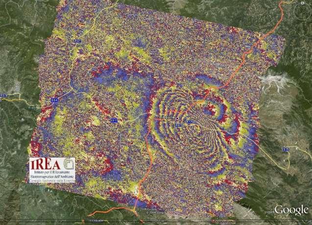 Imagenes de la tierra durante un terremoto
