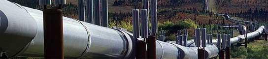El gran oleoducto Trans-Alaska