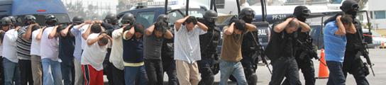 Un bautizo termina con 44 presuntos 'narcos' detenidos en el oeste de México  (Imagen: Mario Guzmán / EFE)
