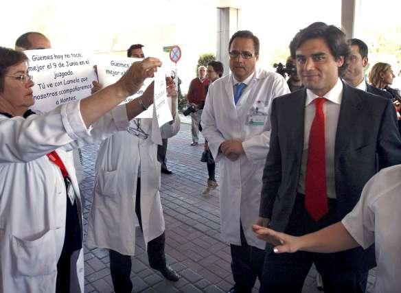 Güemez, insultado en el Severo Ochoa