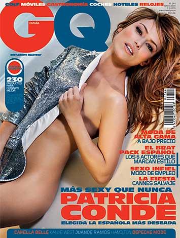 Patricia conde le coge el gusto a posar con poca ropa esta vez en 39 gq 39 - Patricia conde en ropa interior ...