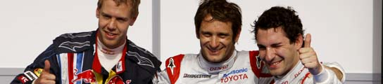 Vettel, Trulli y Glock, en Bahrein