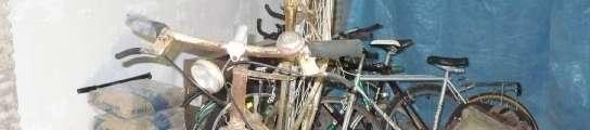 Bicicletas que llevarán a Madagascar