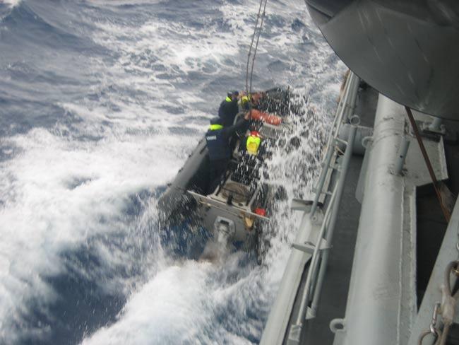 Asalto en el Atlántico