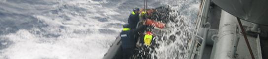 Abordaje al barco de la coca  (Imagen: CIG)