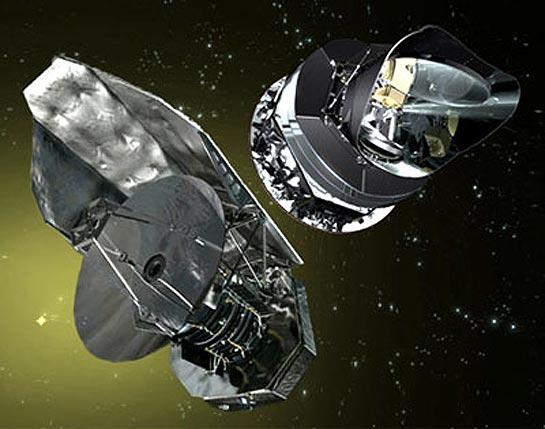 Satélites Herschel y Planck