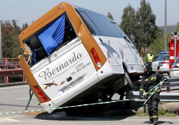 Accidente en Santiago