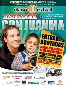David Bisbal, con Juanma.