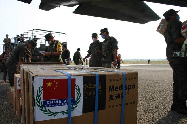 Ayuda china a México