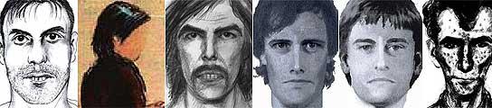 Las múltiples caras del 'secuestrador' de Madeleine a lo largo de la búsqueda