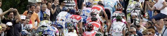 Imagen del pelotón en el Giro de Italia 2009