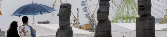 Una imagen de la Semana Negra de 2008 en Poniente