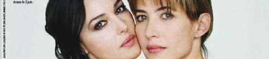 Mónica Bellucci y Sophie Marceau