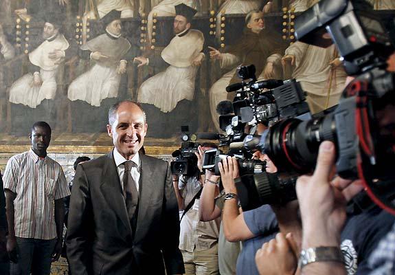 El presidente de la Generalitat, Francisco Camps