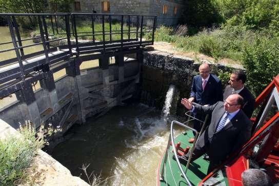 Sexta esclusa del Canal de Castilla