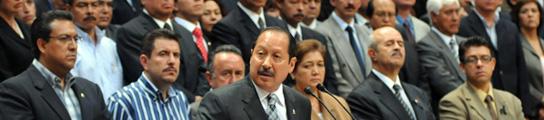 El Ejército detiene a diez alcaldes en un histórico golpe al narcotráfico en México  (Imagen: A. Desgaranes / EFE)