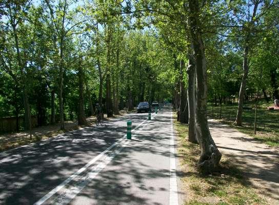 Un paseo por el anillo verde ciclista de Madrid.