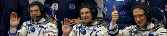 Rumbo a la Estación Espacial Internacional.