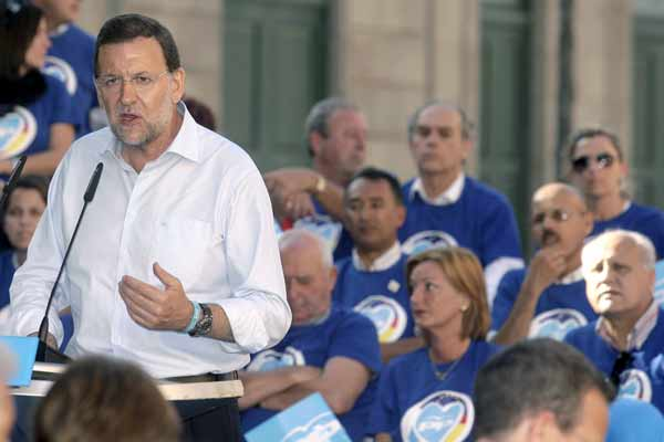 Mitin de Rajoy en Santa Cruz de Tenerife.