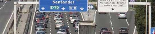 Colas en la autopista A-8