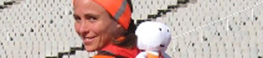 Una griega correrá 2010 km por España para promocionar los Europeos de Atletismo  (Imagen: ALEXANDRAPANAYOTOU.COM)