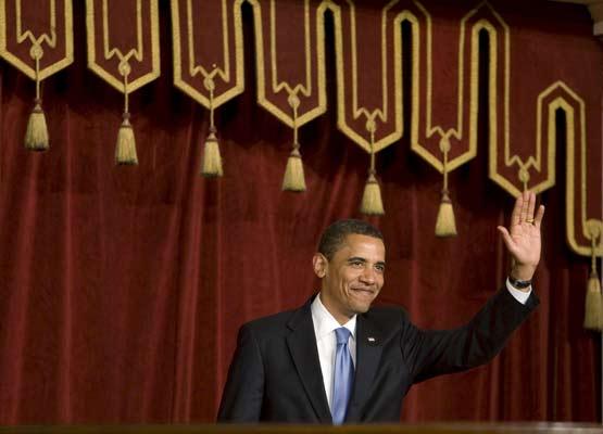 Barack Obama, en El Cairo.