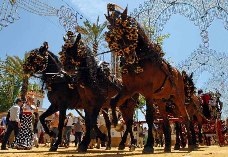 Feria del Caballo en Jerez