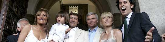 """El hijo de Cayetana Guillén Cuervo es el primer madrileño """"bautizado"""" por lo civil  (Imagen: Javier Lizón / EFE)"""