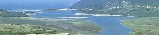 Vista de pájaro de Urdaibai.