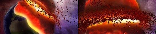 Mercurio y la Tierra podrían chocar en mil millones de años por un cambio de órbita  (Imagen: NASA)
