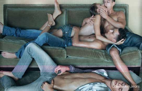 Anuncio de Calvin Klein.