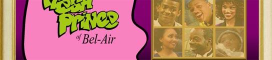 Página web oficial de 'El príncipe de Bel-Air'