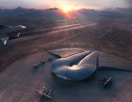 EE UU Construye el Primer Aeropuerto Espacial
