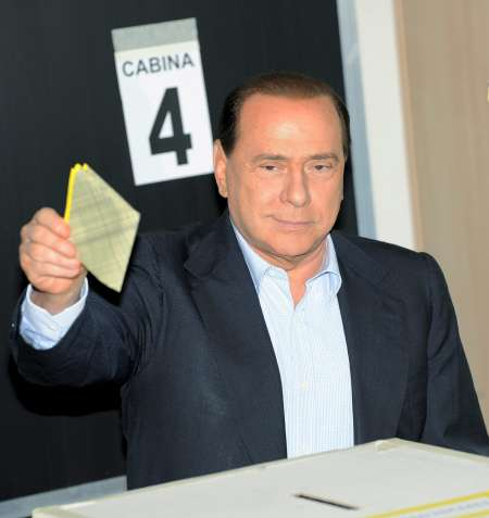 Silvio Ber,lusconi