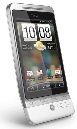 HTC Hero.