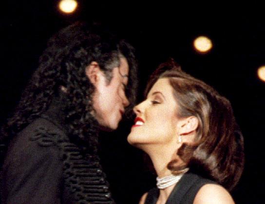 Michael Jackson y Lisa Marie Presley