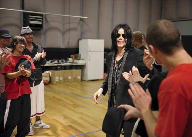 Últimos ensayos de Michael Jackson