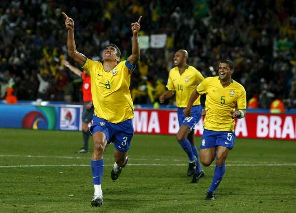 Lucio con Brasil
