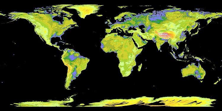 El Mapa más completo de la Tierra 977317